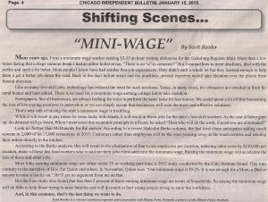 Mini-Wage