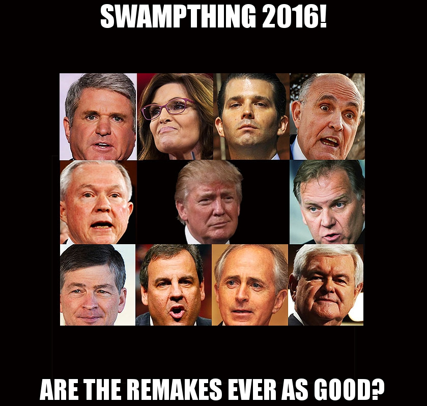 The Swamp by Trump