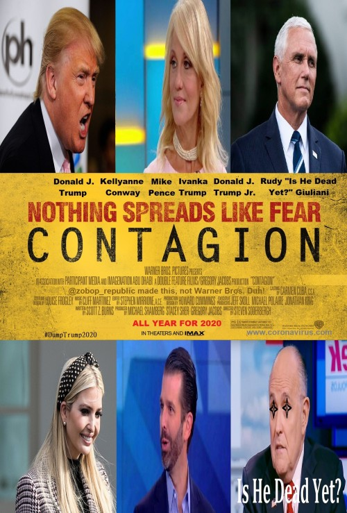 Trump is a Contagion.